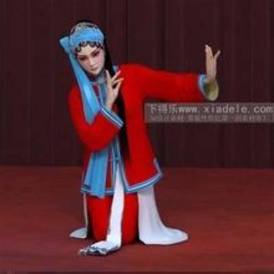 京剧, 演员, 女人