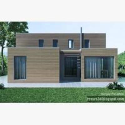 别墅, 建筑, 住宅, 现代