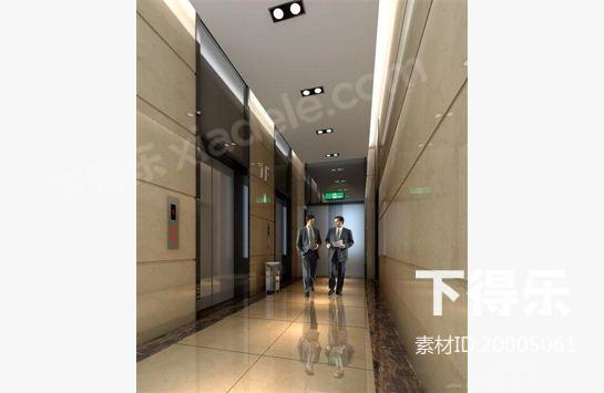 电梯间快题设计手绘平面图