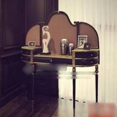 梳妆台, 美式梳妆台, 美式