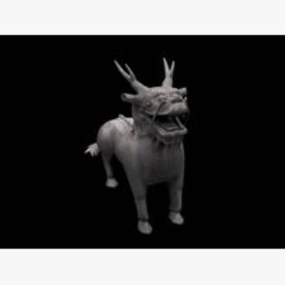 麒麟, 动物, 模型