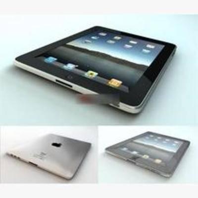 平板电脑, 现代, 电器, 显示屏, 苹果