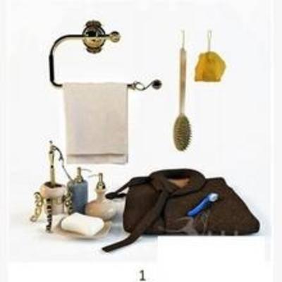 现代, 卫浴, 洗涤日用, 卫浴用品, 毛巾, 毛巾架