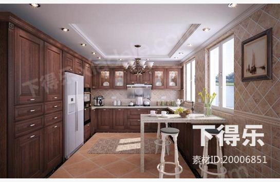厨房设计效果图,厨房