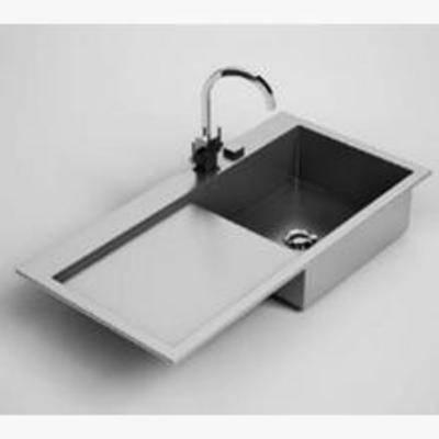 不锈钢, 厨具, 洗手盆, 现代