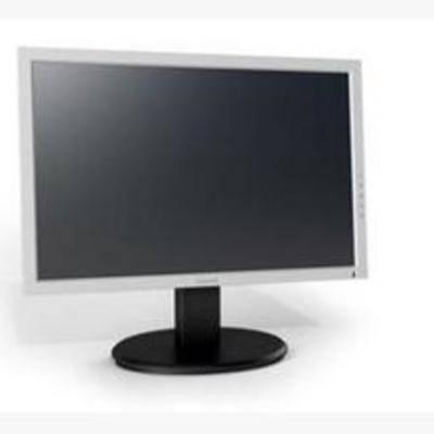 显示器, 液晶, 现代, 电器, 电脑, 显示屏, 键盘