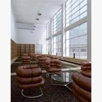 现代, 沙发, 茶几, 吊灯