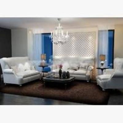 后现代沙发, 后现代, 多人沙发, 沙发组合