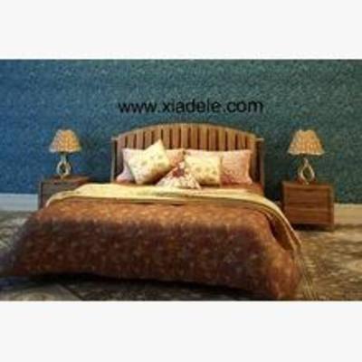东南亚床, 平板床, 床, 双人床