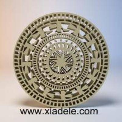 铜鼓,浮雕, 雕花, 中式