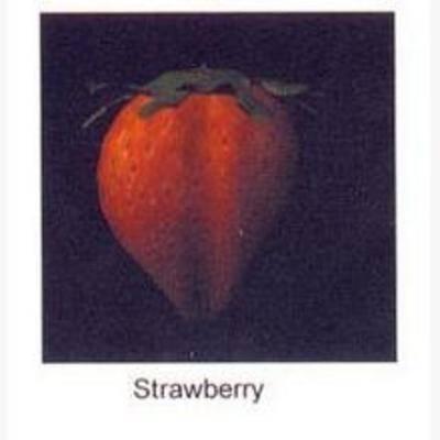 水果, 现代, 草莓, 食物