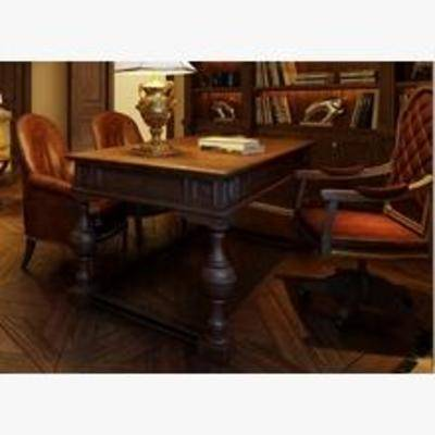 桌子, 书桌, 美式书桌