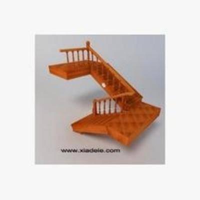 旋转楼梯, 原木