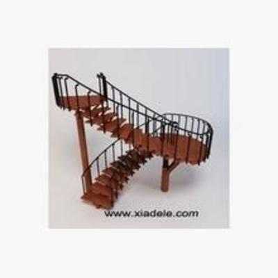 旋转楼梯, 工业风