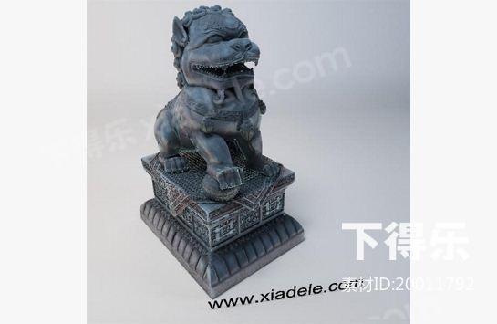 3dmax 雕塑素材