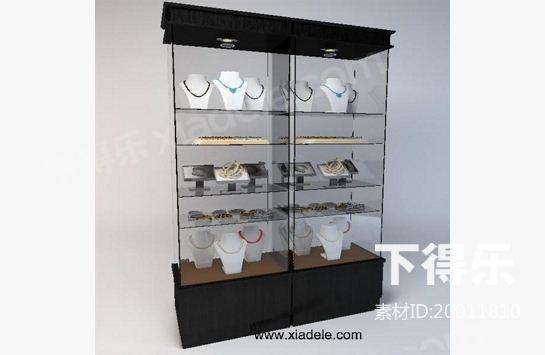 展示柜_下得乐3d模型网xiadele.com