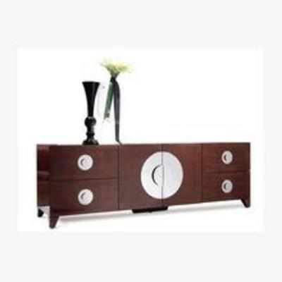 新中式电视柜, 地柜式电视柜, 电视柜