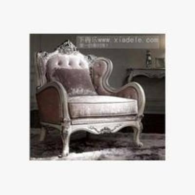 古典沙发, 欧式沙发, 沙发, 多人沙发