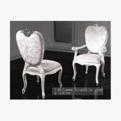 欧式餐椅, 餐椅, 欧式椅子, 椅子