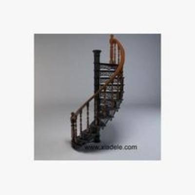 欧式, 旋转楼梯