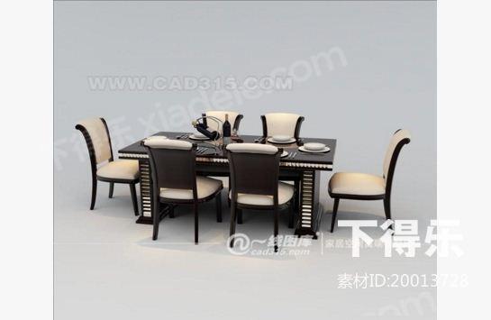 中式家具单体手绘图片