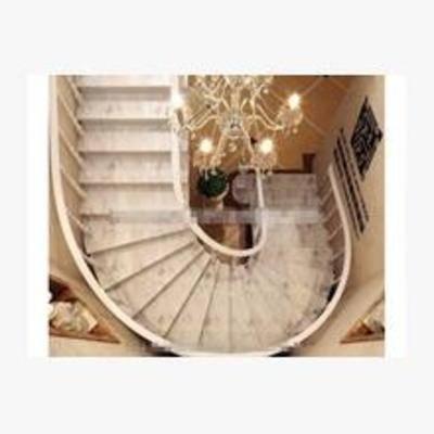 旋轉樓梯, 簡歐