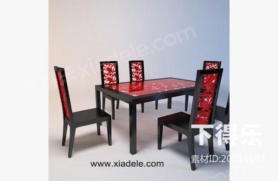新中式桌椅,新古典