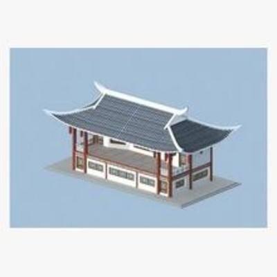 中式, 古建, 建筑