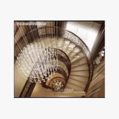 旋轉樓梯, 歐式