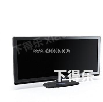 液晶电视013_3d模型下载,3dmax模型下载网_下得乐模型