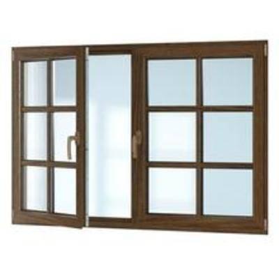 窗, 双开, 现代