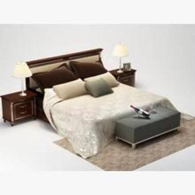 平板床, 欧式床, 床, 欧式