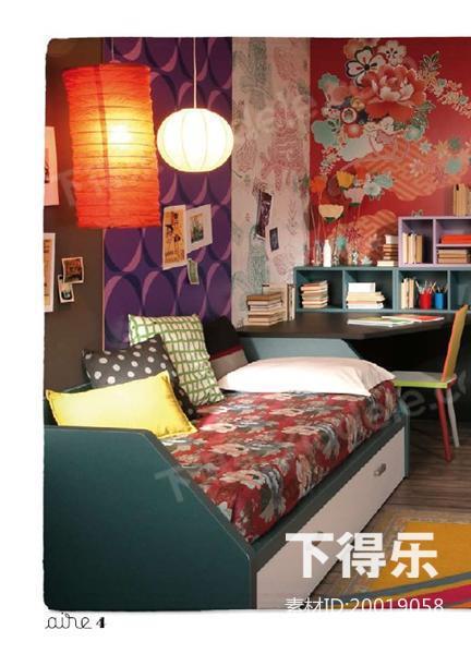 室内设计资料国外儿童卧室家具