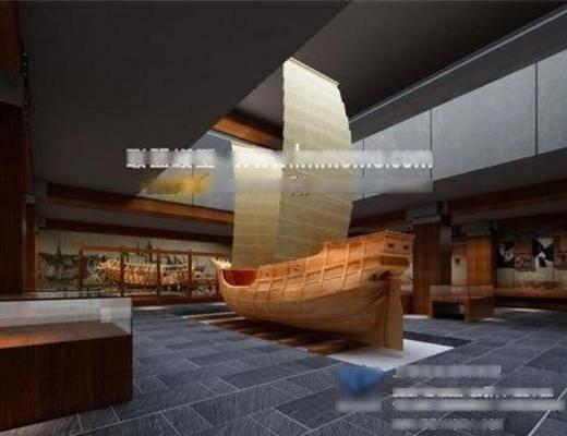 新中式, 艺术馆, 摆件