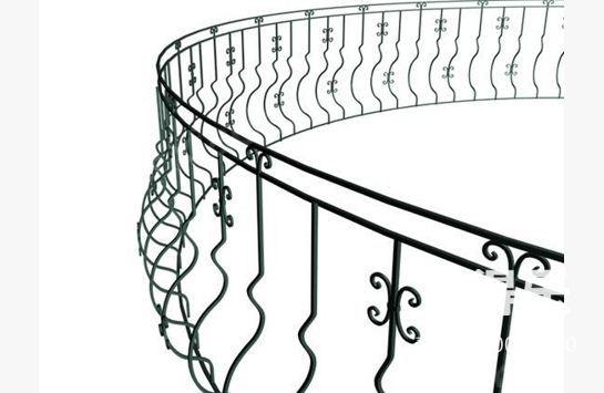 手绘栏杆矢量图