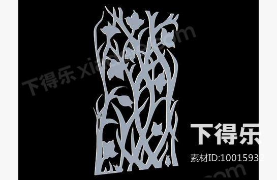 雕花_3d模型下载,3dmax模型下载网