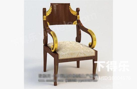 新中式椅子 3d模型下载