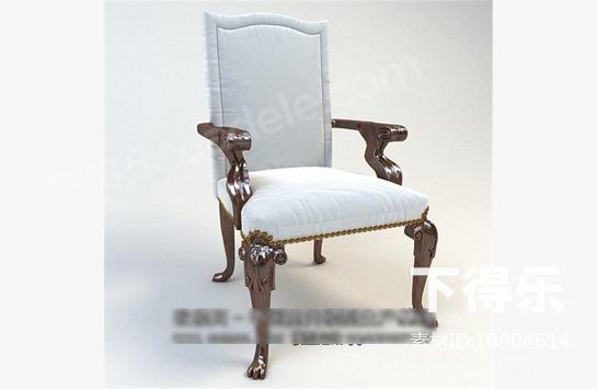 古典欧式椅子 3d模型下载