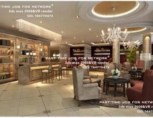 美式, 酒吧, 单椅, 吊灯, 吧椅, 吧台