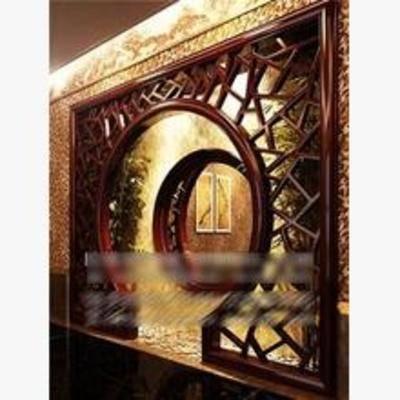 门拱, 中式