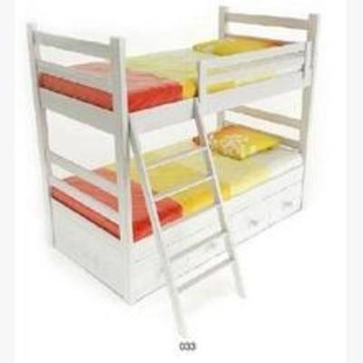 双层床, 简约床, 床, 现代简约