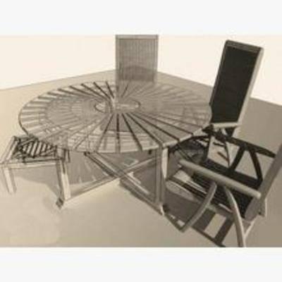 田园椅子, 椅子