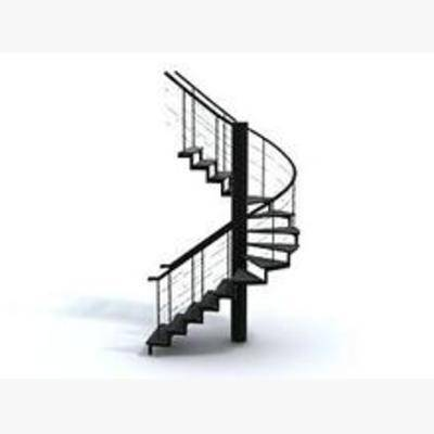 现代, 旋转楼梯