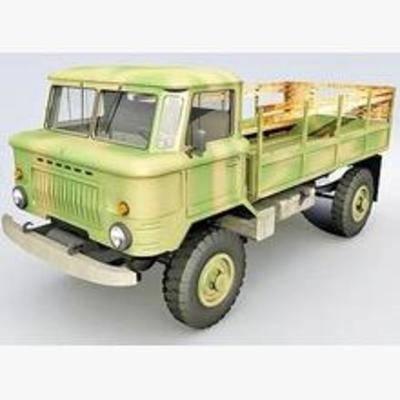 货车, 交通工具, 模型, 现代
