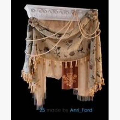 窗帘模型, 窗帘