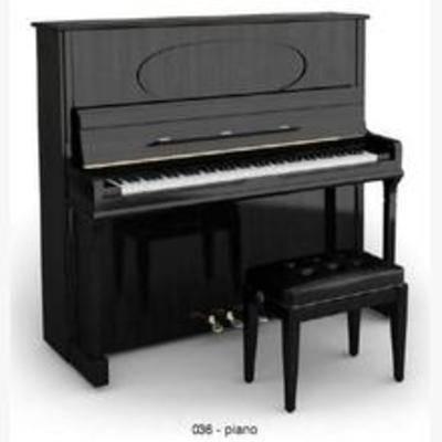 钢琴, 乐器, 现代, 模型, 音乐, 设备