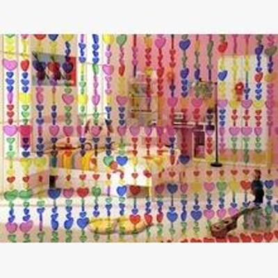 现代窗帘, 布艺窗帘, 窗帘模型, 窗帘, 现代简约