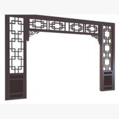 中式, 门拱