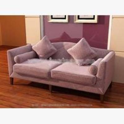 沙发, 北欧, 双人沙发