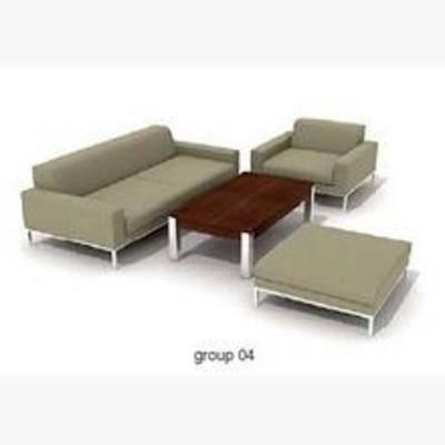 简约沙发, 沙发, 多人沙发